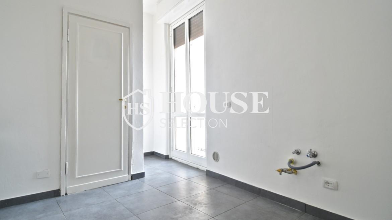 Affitto attico San Marco, Brera, Porta Nuova, via Cernaia, ultimo piano, terrazzo, centro Milano 3