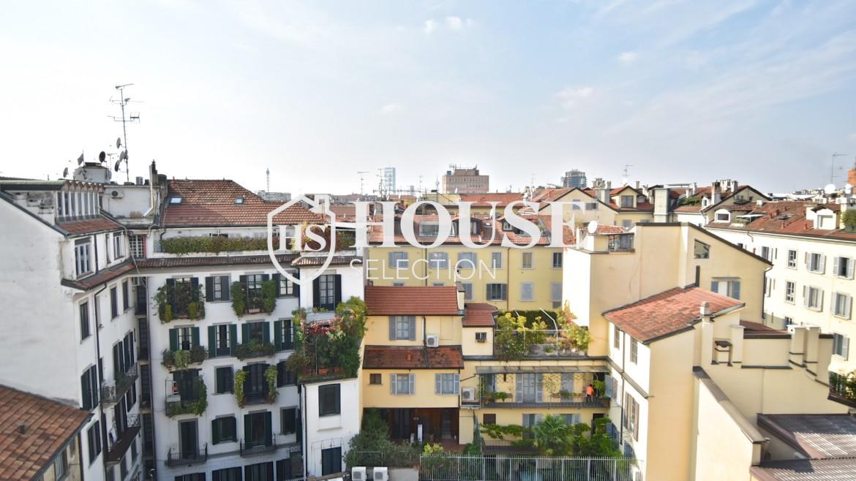 Affitto attico San Marco, Brera, Porta Nuova, via Cernaia, ultimo piano, terrazzo, centro Milano 7
