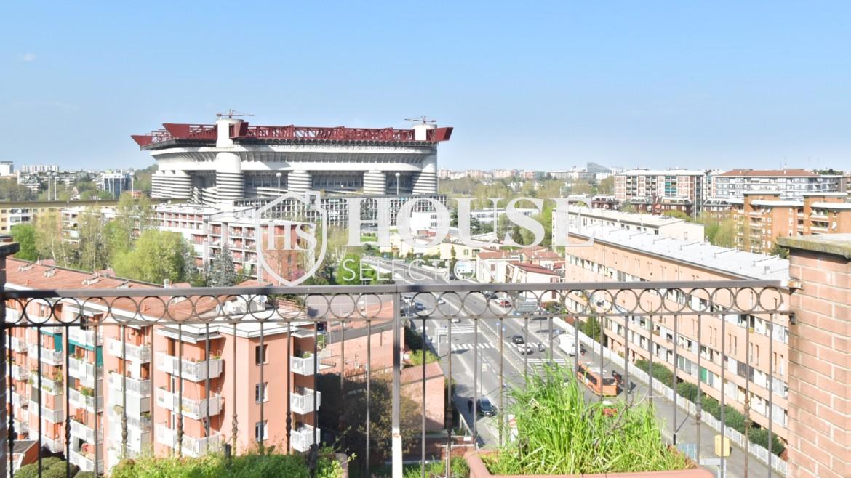 Vendita attico con terrazzo San Siro, recente costruzione, ristrutturato, ultimo piano, ascensore, Milano 4