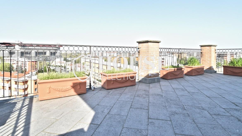 Vendita attico con terrazzo San Siro, recente costruzione, ristrutturato, ultimo piano, ascensore, Milano 5
