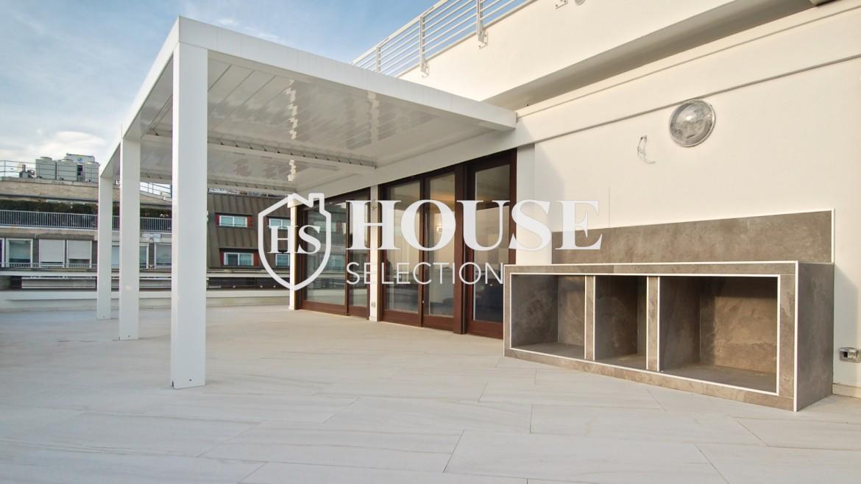 Affitto attico con terrazzo San Babila, Duomo, centro storico, nuova realizzazione, lusso, luminoso, arredato, Milano 3