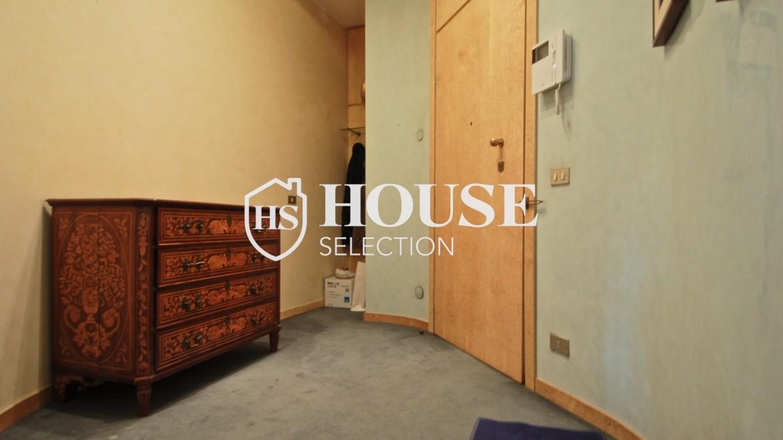 Affitto appartamento quadrilatero, via Montenapoleone, via Verri, stabile signorile, Milano 12