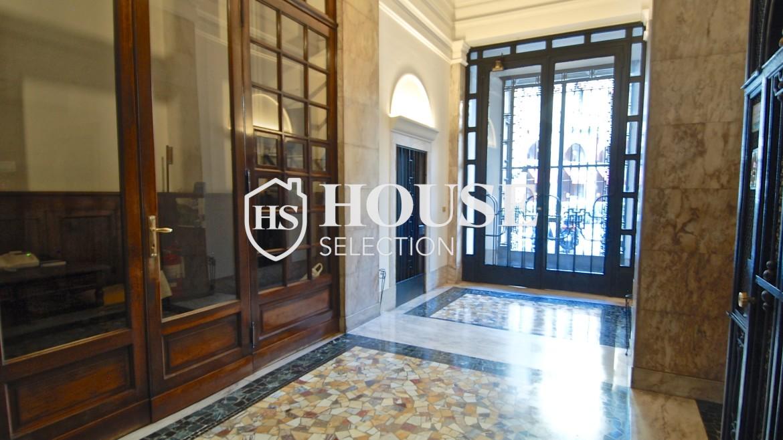 Affitto appartamento quadrilatero, via Montenapoleone, via Verri, stabile signorile, Milano 13