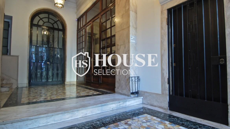 Affitto appartamento quadrilatero, via Montenapoleone, via Verri, stabile signorile, Milano 14