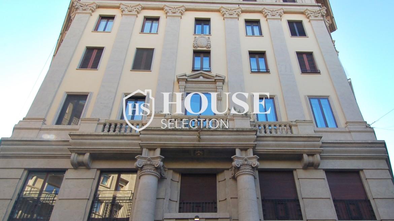 Affitto appartamento quadrilatero, via Montenapoleone, via Verri, stabile signorile, Milano 16