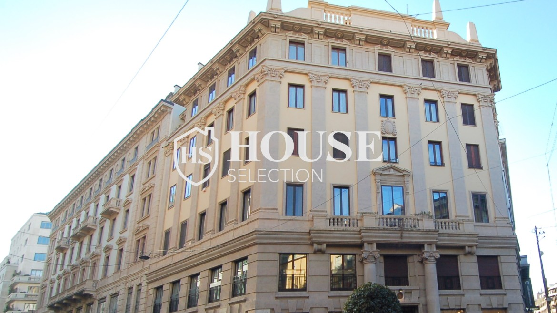 Affitto appartamento quadrilatero, via Montenapoleone, via Verri, stabile signorile, Milano 17
