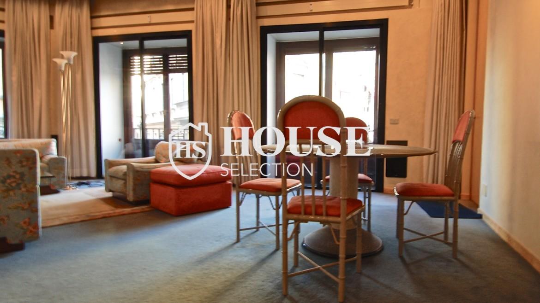 Affitto appartamento quadrilatero, via Montenapoleone, via Verri, stabile signorile, Milano 2