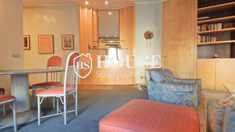 Affitto appartamento quadrilatero, via Montenapoleone, via Verri, stabile signorile, Milano 3