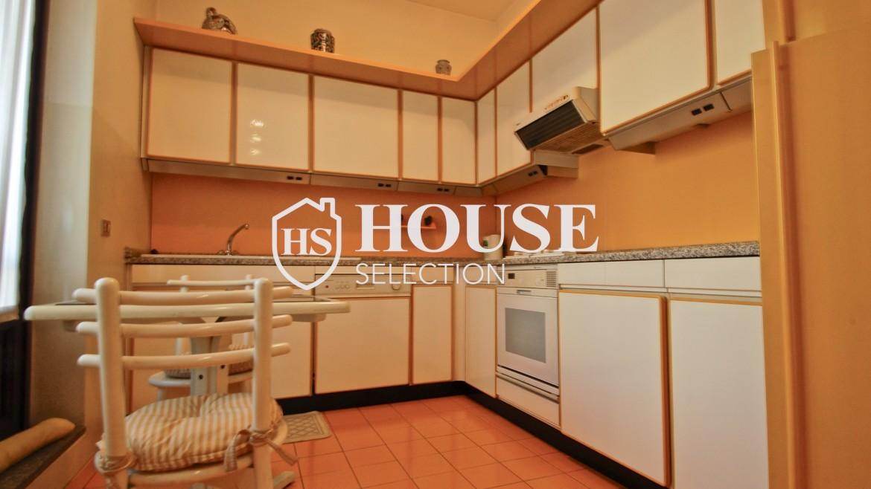 Affitto appartamento quadrilatero, via Montenapoleone, via Verri, stabile signorile, Milano 4