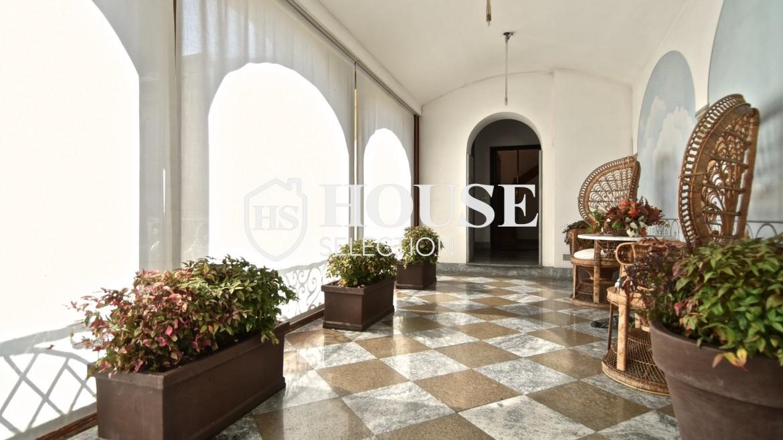 Vendita attico San Babila, centro storico Milano, ultimo piano, palazzo Visconti, lusso in stabile epoca, storico 22