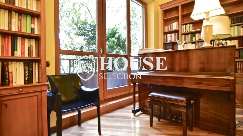 Affitto appartamento con terrazzo Brera, San Simpliciano, corso Garibaldi, luminoso, ristrutturato, box auto, centro Milano 1