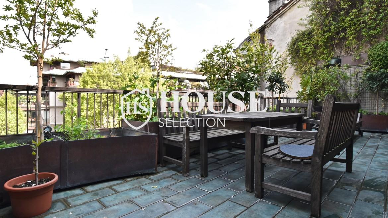 Affitto appartamento con terrazzo Brera, San Simpliciano, corso Garibaldi, luminoso, ristrutturato, box auto, centro Milano 2