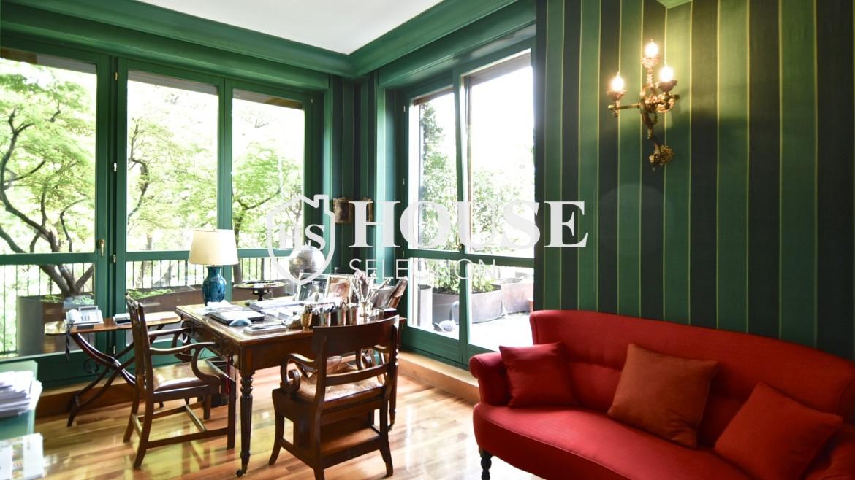 Affitto appartamento con terrazzo Brera, San Simpliciano, corso Garibaldi, luminoso, ristrutturato, box auto, centro Milano 9