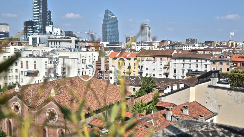 Vendita attico con terrazzo Corso Garibaldi, Moscova, ultimo piano, panoramico, luminoso, da ristrutturare, centro Milano 6
