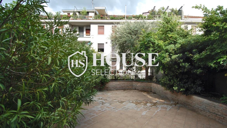 Vendita quadrilocale con terrazzo corso Indipendenza, Via Sottocorno, piano alto, ristrutturato, con ascensore e servizio di portineria, centro Milano 7