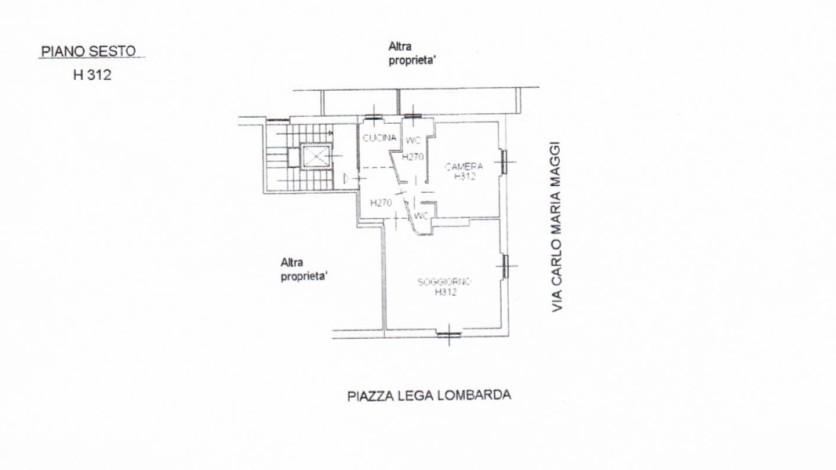 planimetria Lega Lombarda
