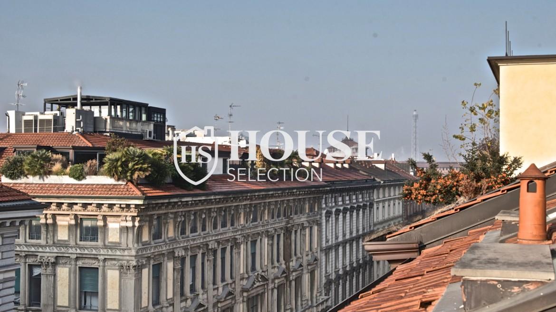 Affitto attico con terrazzo via Dante | House Selection 3