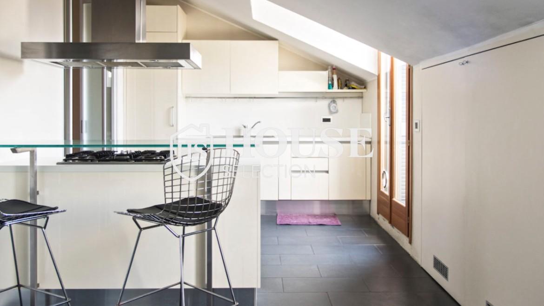 Affitto attico con terrazzo via Dante | House Selection 5