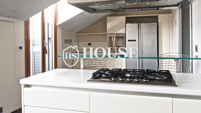 Affitto attico con terrazzo via Dante | House Selection 7
