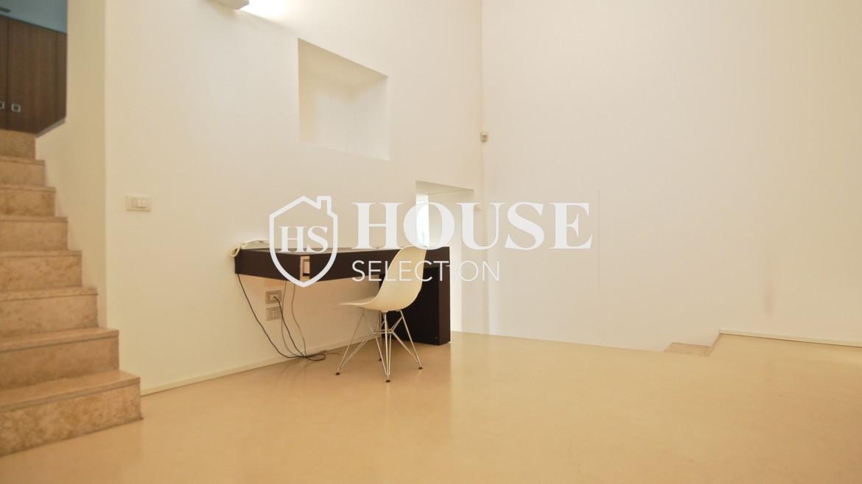 Vendita appartamento Navigli, via Vigevano, loft, luminoso, ristrutturato, stabile d'epoca, storico, Milano 1