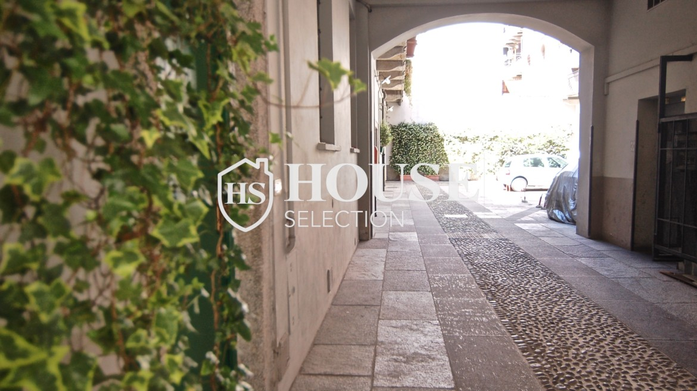 Vendita appartamento Navigli, via Vigevano, loft, luminoso, ristrutturato, stabile d'epoca, storico, Milano 20
