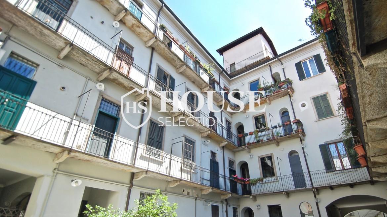 Vendita appartamento Navigli, via Vigevano, loft, luminoso, ristrutturato, stabile d'epoca, storico, Milano 22