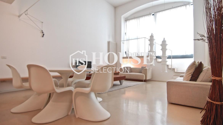 Vendita appartamento Navigli, via Vigevano, loft, luminoso, ristrutturato, stabile d'epoca, storico, Milano 4