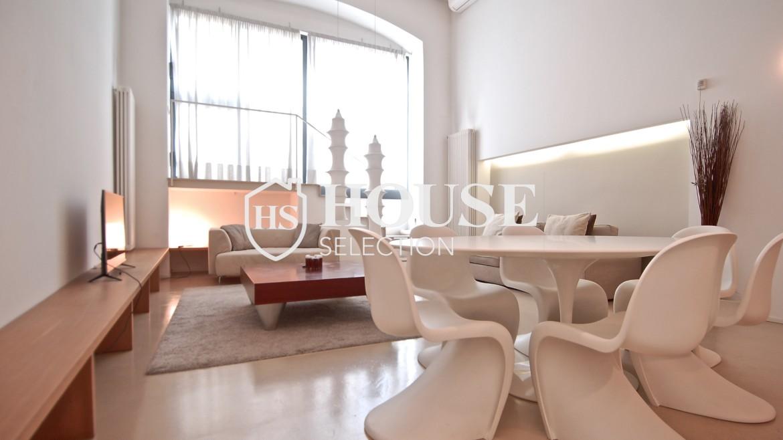 Vendita appartamento Navigli, via Vigevano, loft, luminoso, ristrutturato, stabile d'epoca, storico, Milano 5