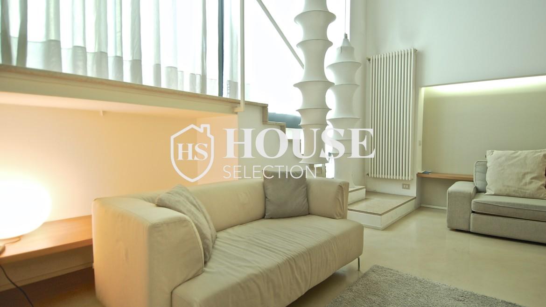 Vendita appartamento Navigli, via Vigevano, loft, luminoso, ristrutturato, stabile d'epoca, storico, Milano 7