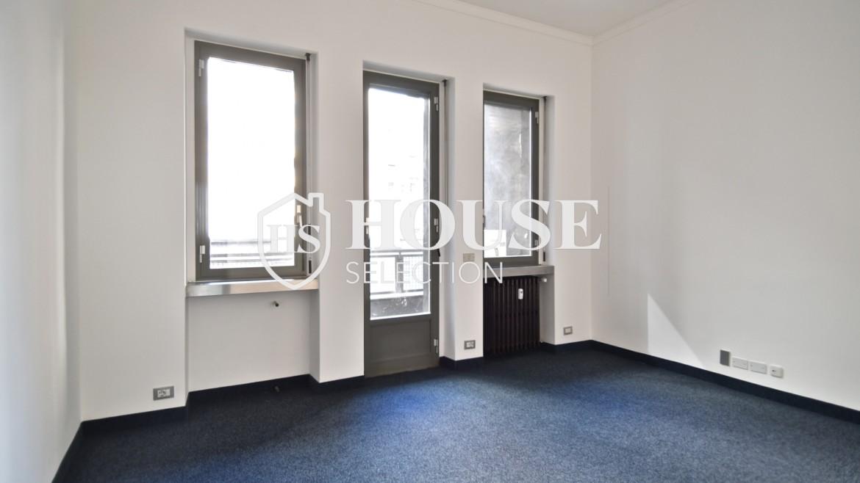 Affitto ufficio parco Palestro, locazione, Repubblica, Turati, via Manin, via Tarchetti, luminoso, ristrutturato, centro Milano 9