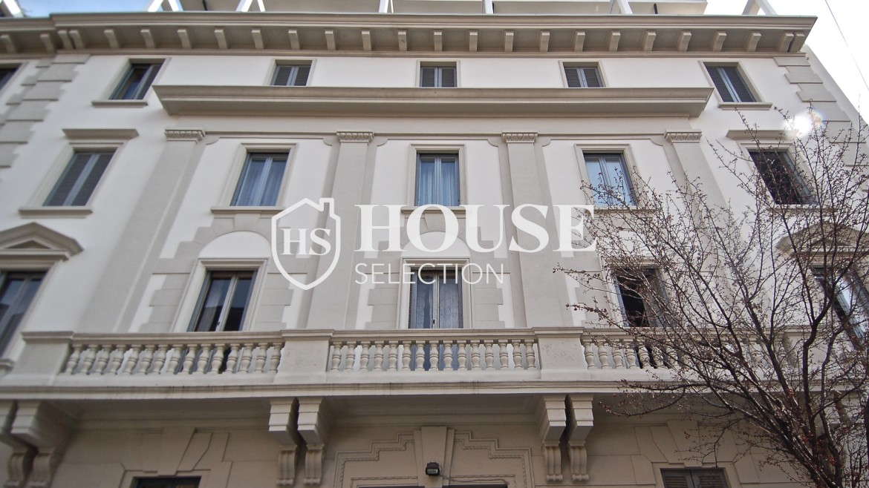 Vendita ampio tre locali via Mameli, Indipendenza, ristrutturato, luminoso, epoca, centro Milano 1
