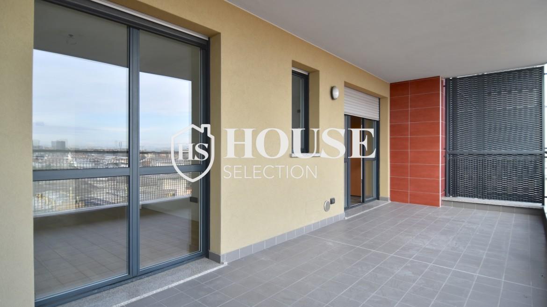 Vendita bilocale con terrazzo Politecnico di Milano, Bovisa, nuova costruzione, piano alto 10