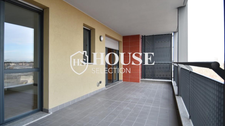 Vendita bilocale con terrazzo Politecnico di Milano, Bovisa, nuova costruzione, piano alto 11