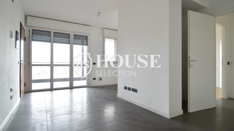Vendita bilocale con terrazzo Politecnico di Milano, Bovisa, nuova costruzione, piano alto 6