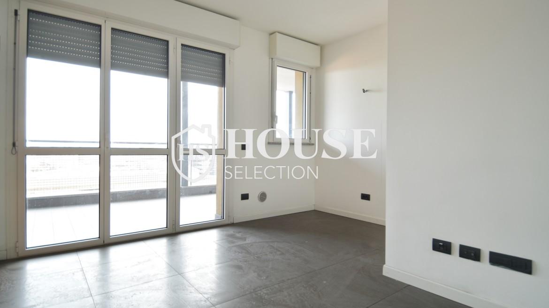 Vendita bilocale con terrazzo Politecnico di Milano, Bovisa, nuova costruzione, piano alto 9