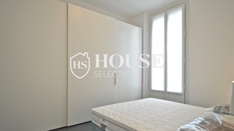 Affitto appartamento con terrazzo Moscova, corso Garibaldi, ristrutturato a nuovo e arredato, centro Milano 15