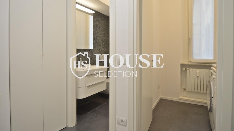 Affitto appartamento con terrazzo Moscova, corso Garibaldi, ristrutturato a nuovo e arredato, centro Milano 2