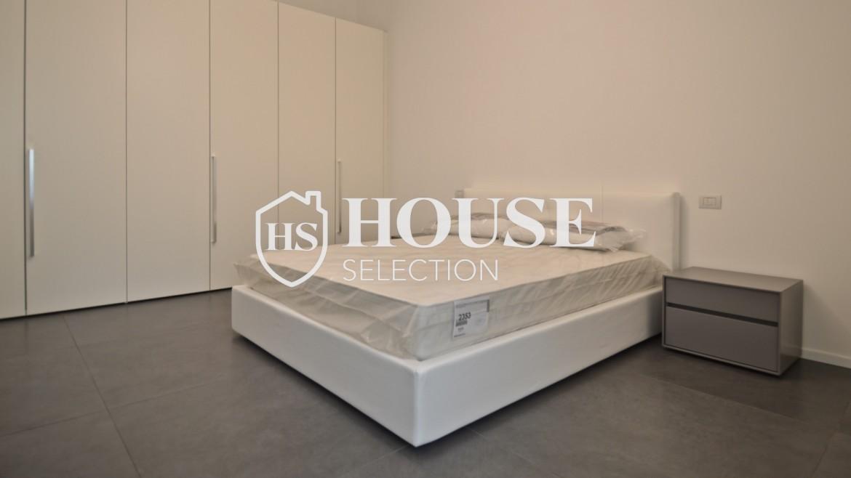 Affitto appartamento con terrazzo Moscova, corso Garibaldi, ristrutturato a nuovo e arredato, centro Milano 21