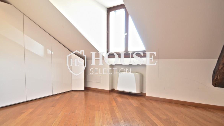 Affitto appartamento attico mansarda piazza Castello, foro Bonaparte, luminoso, ristrutturato, aria condizionata, centro storico Milano 12