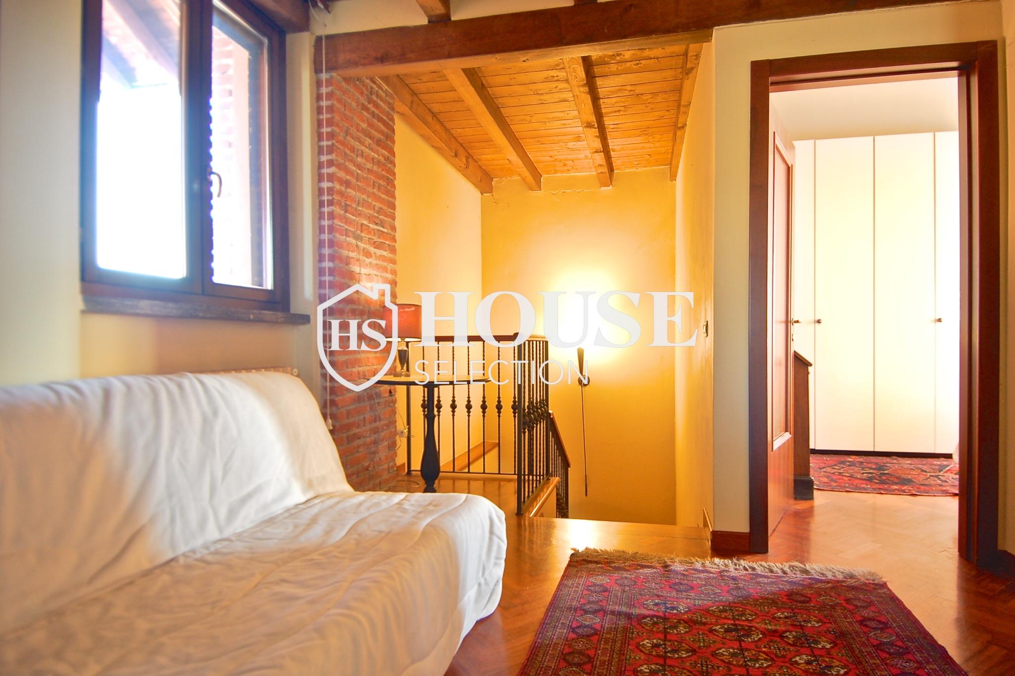 Affitto villa Basiglio, con giardino, ristrutturata, aria condizionata, corte interna, box auto, Milano 10
