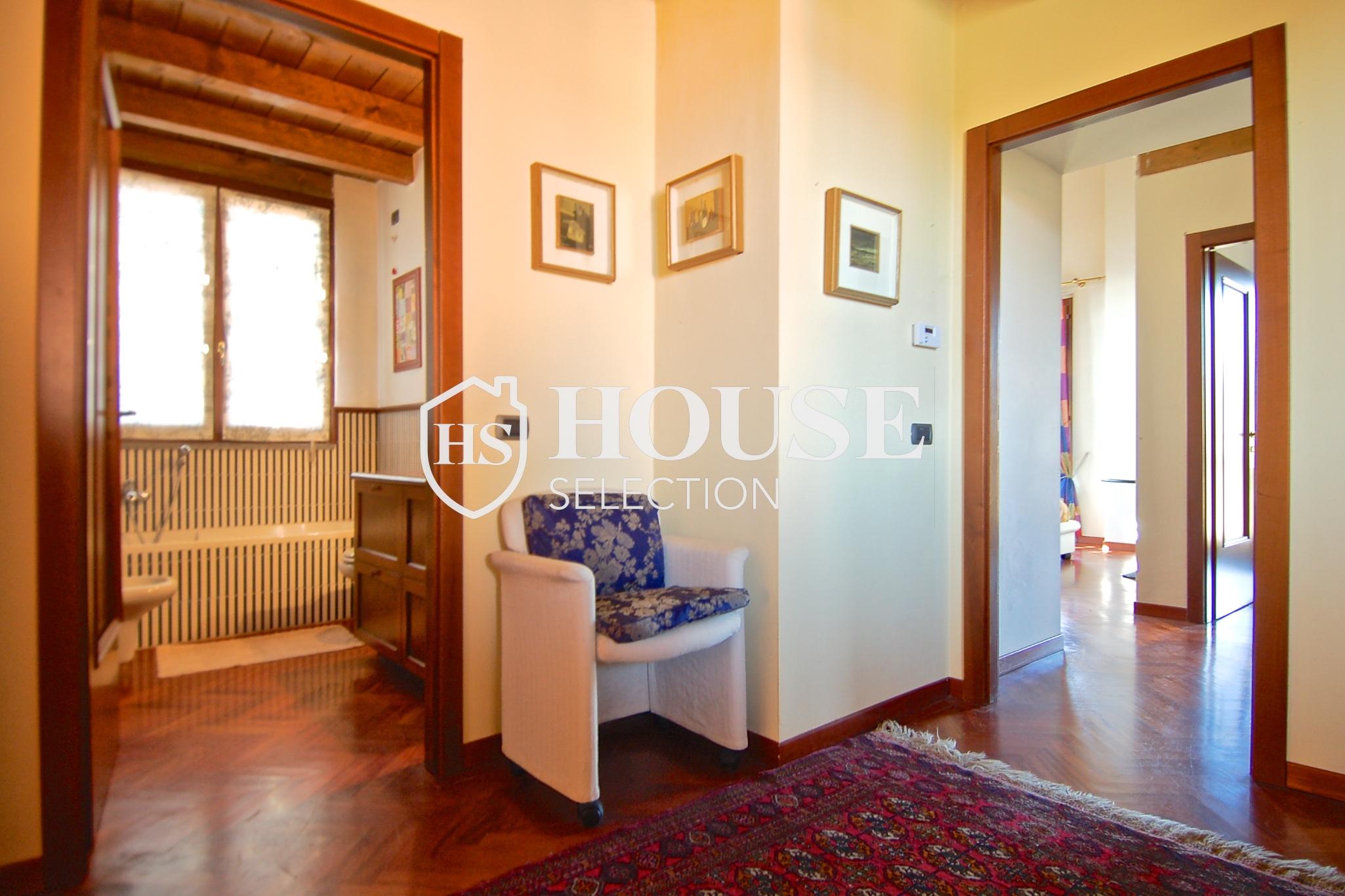 Affitto villa Basiglio, con giardino, ristrutturata, aria condizionata, corte interna, box auto, Milano 11