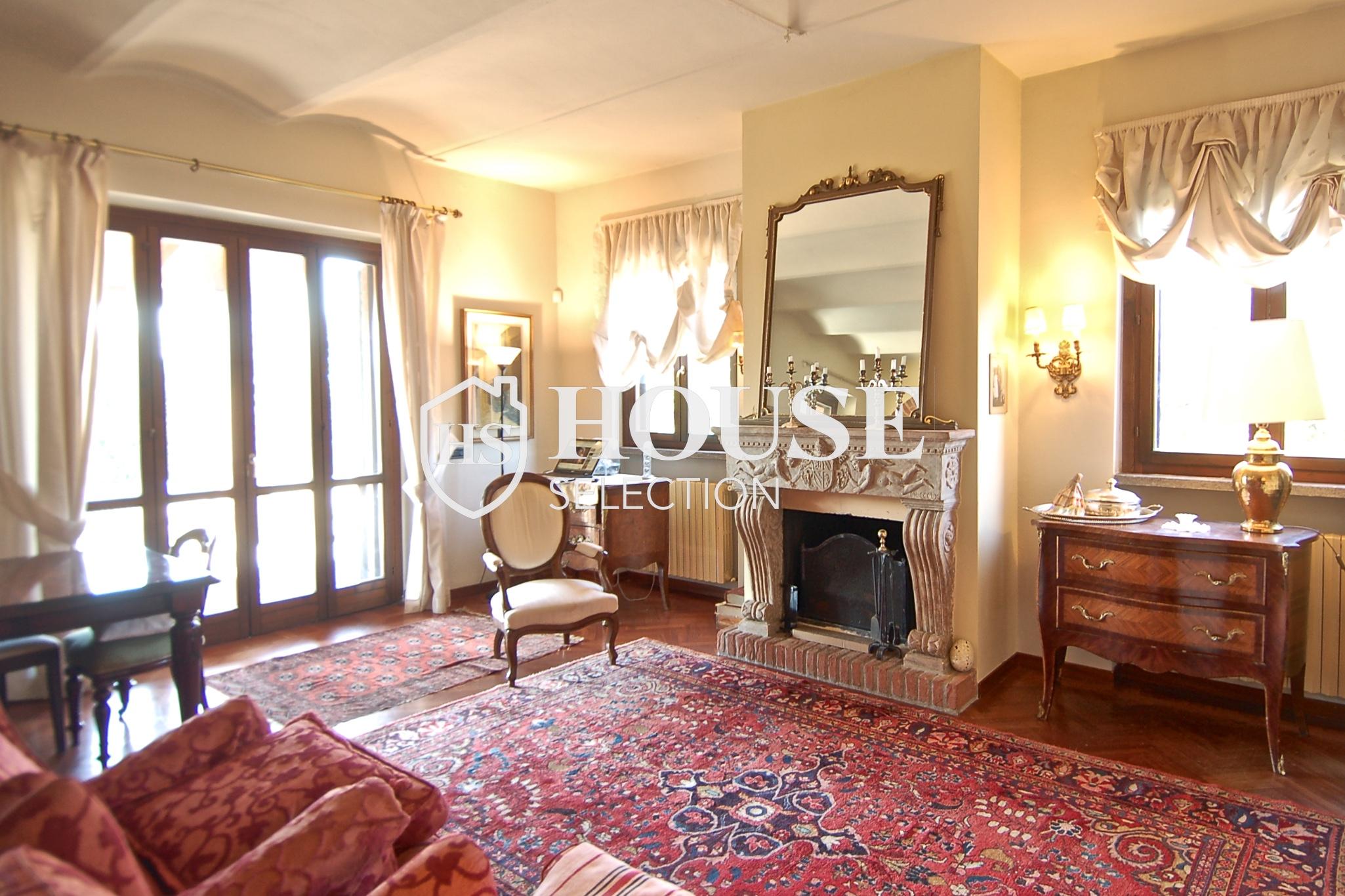 Affitto villa Basiglio, con giardino, ristrutturata, aria condizionata, corte interna, box auto, Milano 3
