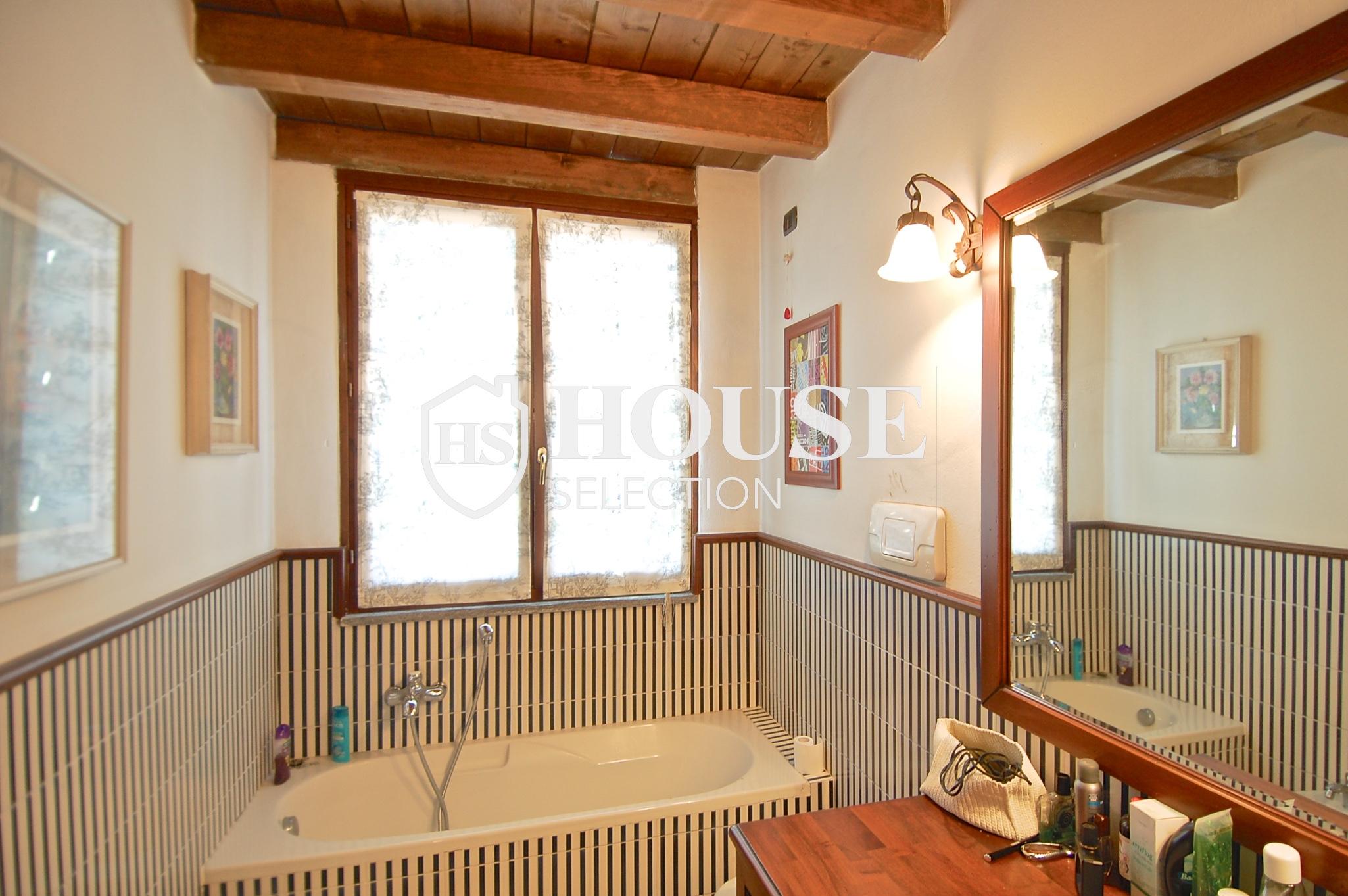 Affitto villa Basiglio, con giardino, ristrutturata, aria condizionata, corte interna, box auto, Milano 6
