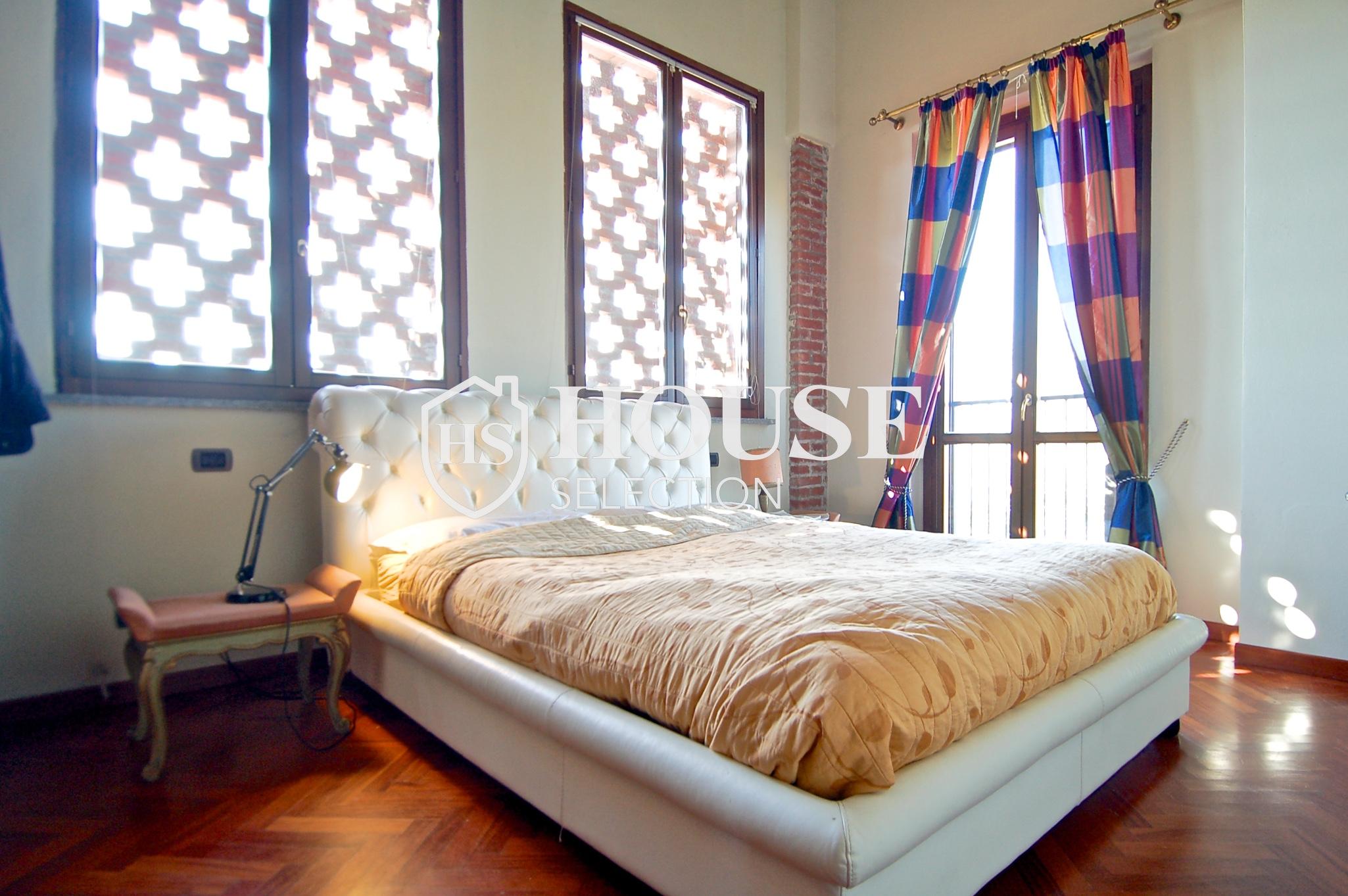 Affitto villa Basiglio, con giardino, ristrutturata, aria condizionata, corte interna, box auto, Milano 7