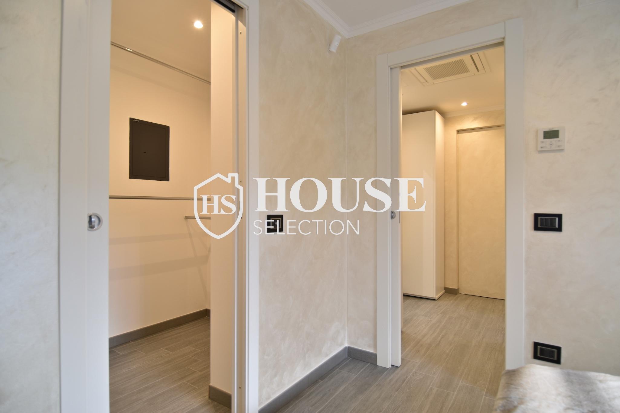 Vendita attico con terrazzo piazza Caiazzo, mm, ultimo piano, nuova realizzazione, palazzo epoca, ascensore, Milano 5