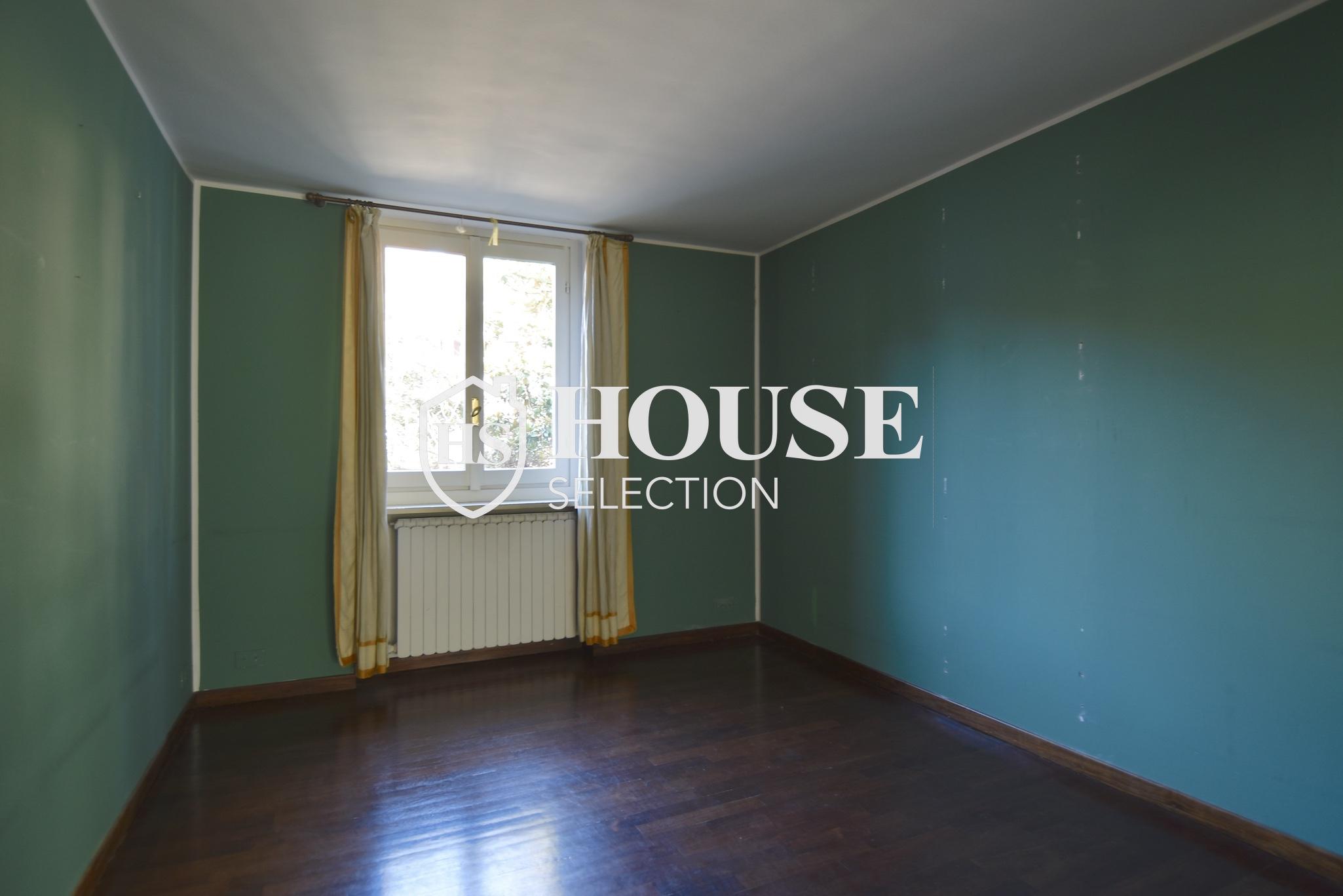 Affitto attico trilocale con terrazzino, via Archimede, tranquillo e luminoso, Milano 9