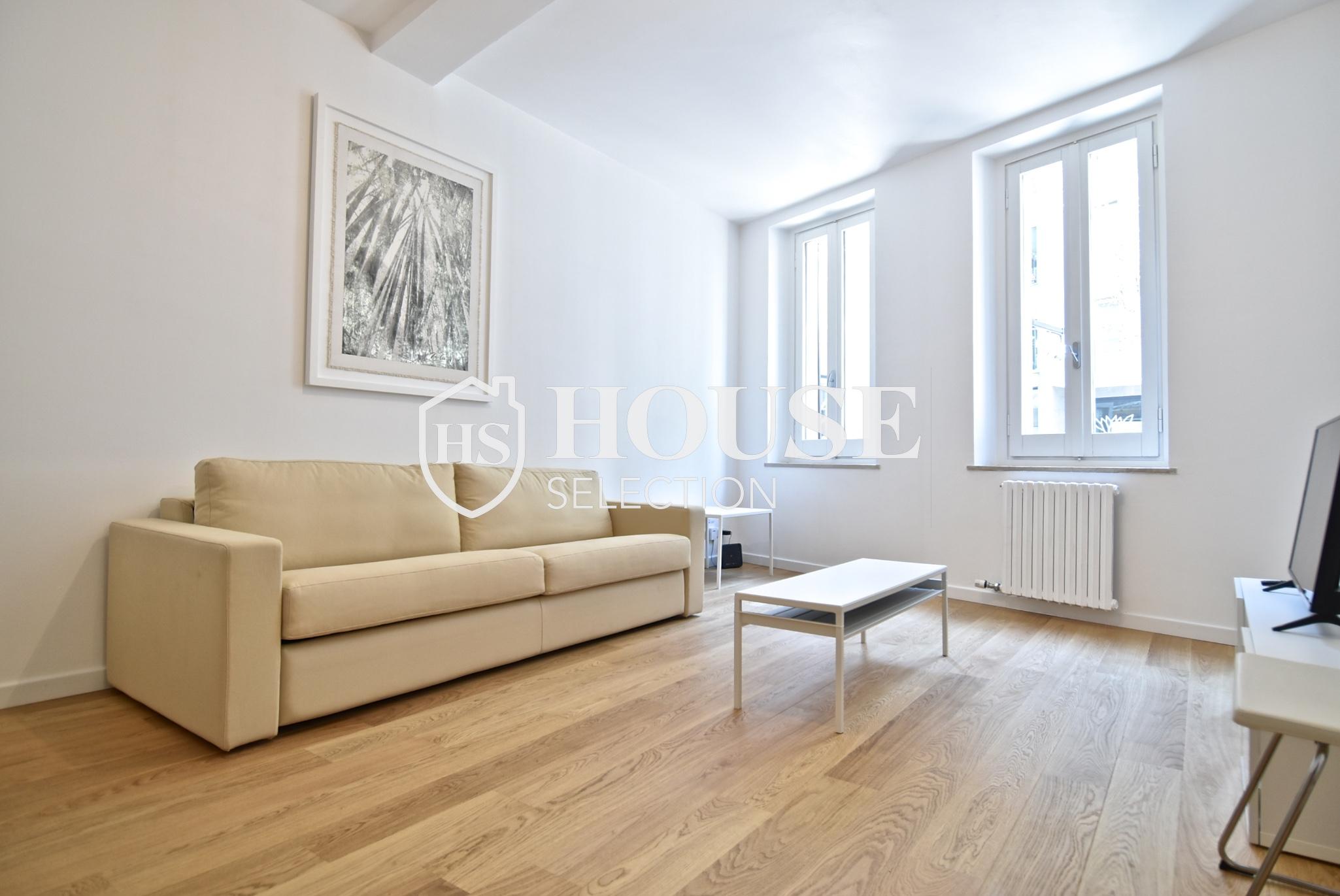 Affitto ampio bilocale Corso Garibaldi, Brera, centro Milano, ristrutturato e arredato 6