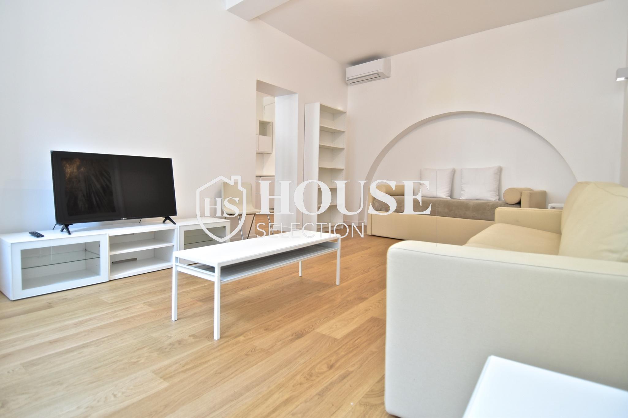 Affitto ampio bilocale Corso Garibaldi, Brera, centro Milano, ristrutturato e arredato 8